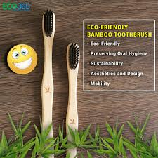 <b>ECO FRIENDLY BAMBOO</b> TOOTHBRUSH — ECO365