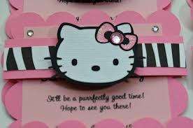 hello kitty party invitations com hello kitty party invitations for inspirational prepossessing party invitation ideas create your own design 11