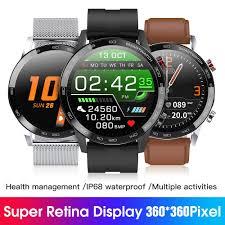 Microwear <b>L16 Smartwatch</b> Bracelet ECG+PPG IP68 Waterproof ...