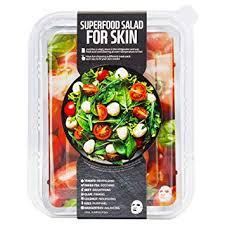 superfood salad for skin тканевая маска мангостин баланс