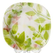 <b>Тарелка суповая Pasabahce</b>, Butterflies, 21,5*21,5 см — купить в ...