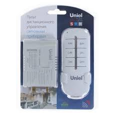 <b>Пульт управления</b> освещением Uniel, 3 канала, 1000 Вт, 30 м в ...