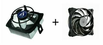 <b>Arctic Cooling Alpine</b> 64 GT <b>Cooler CoolerMaster</b> 120mm 3-pin 9 ...