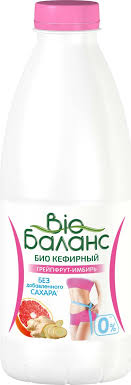 <b>Кефирный продукт Био Баланс Био</b> Грейпфрут и имбирь ...