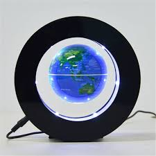 Creative Floating Magnetic Levitation Globe Night Light <b>World Map</b> ...