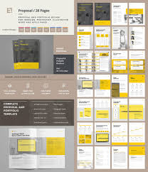 best business proposal templates for new client projects creative project proposal template set