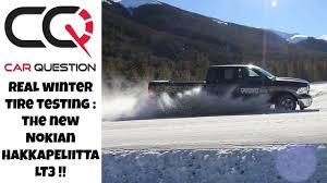 Real winter tire testing: <b>Nokian HAKKAPELIITTA LT3</b> | Studded work ...
