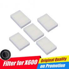 <b>Робот</b>-фильтры для <b>пылесоса Panda X600</b>, kitft KT504 HEPA X 5 шт