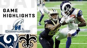 Rams vs. Saints NFC Championship Highlights   NFL 2018 Playoffs ...