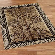 leopard print rug for charming floor decoration ideas chic zebra print rug