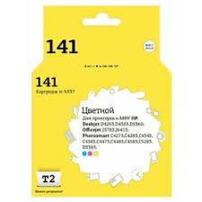 «<b>T2 IC</b>-<b>H337 картридж</b> для HP Deskjet D4263/D5360/Officejet ...