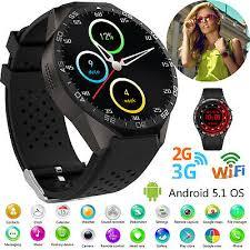 Women Men Gift 3G <b>Smart Watch</b> Phone Bluetooth GPS WIFI Touch ...