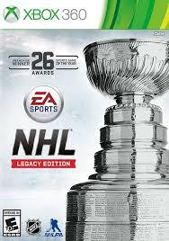 NHL Legacy Edition RGH Xbox 360 Mega Xbox Ps3 Pc Xbox360 Wii Nintendo Mac Linux