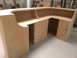 how to build a curved reception desk build office desk