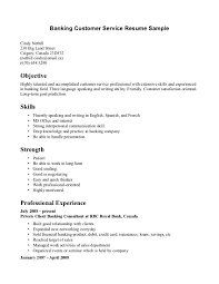 customer service for resume customer representative job banking gallery of sample of resume for customer service representative