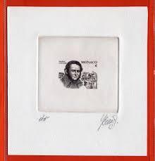 philatelie pilatte stamps artist proof 2625 stendhal writer