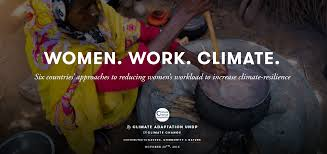 ensuring gender responsive climate change adaptation undp photo essay women work climate