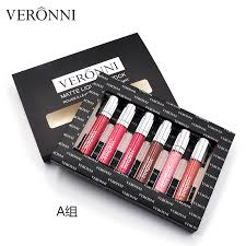China VERONNI <b>Matte Liquid Lipstick 12 Colors Matte</b> Lipgloss Set ...