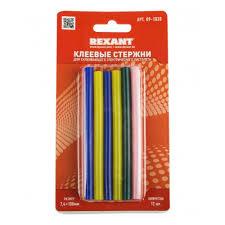 <b>Клеевые стержни REXANT</b> d=7 мм, L=100 мм, цветные (упак. 12 ...