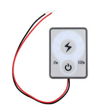 <b>TD16 24V LED Battery</b> Power Indicator Touch Button Power Display ...