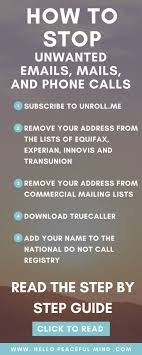 best ideas about life hacks phone life are you tired of receiving tones of unwanted emails mails and phone calls click