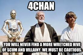 you will never find a more wretched hive of scum and villainy. We ... via Relatably.com