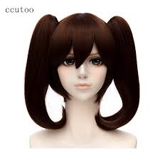 ccutoo The <b>Seven Deadly</b> Sins Diane Cosplay Wigs <b>Brown</b> Double ...