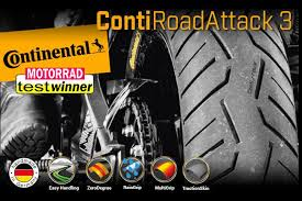 <b>CONTINENTAL</b> - <b>ContiRoadAttack 3</b> Tyre – Casbolts Motorcycles