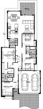 images about Narrow Block Plans on Pinterest   Case study    The Jetty  Floor Plan