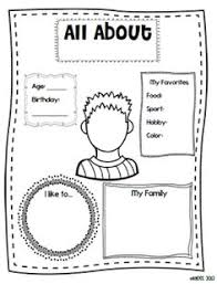 1000+ images about All about me activities on Pinterest | All ...All About Me Pages and Freebie! Great for back to school!