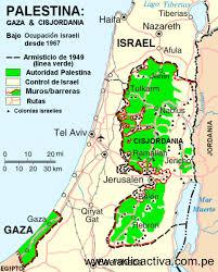Resultado de imagen de franja de gaza