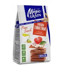 <b>Magic Grain</b> Хлебцы томатные Лук и базилик 90 г - Акушерство.Ru