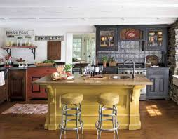Country Kitchen Layouts American Country Kitchen Ideas