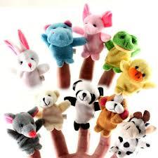 Hot <b>5pcs</b>/lot Australian <b>Animals Finger Puppet</b> Doll Baby ...