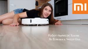 Робот-<b>пылесос Xiaomi Mi Roborock</b> Sweep One. С функцией ...