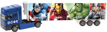 Тягач с полуприцепом <b>Autogrand Avengers Marvel</b> — купить в ...