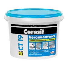 <b>Грунтовка бетонконтакт Ceresit CT</b>-19 «Зима», 5 кг - купите по ...