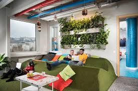 the designers description the offices of google atmosphere google office