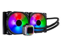 <b>Водяное охлаждение Hydro Series H115I</b> RGB Platinum 280mm ...