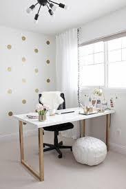 desk itself building diy office white wood plate gold matt legs wall decoration building an office desk