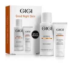 <b>GIGI</b> Набор подарочный <b>Ночной</b> (гель 60 мл, <b>крем</b> 15 мл) ESTER ...