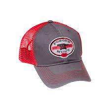 <b>Бейсболка Buck Forged for</b> the Hunt Cap, красно-серая - купить в ...