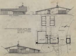 Pacific Standard Time   Care  California  Cliff May and the    Cliff May House    quot Mandalay quot   Los Angeles  California   Gatehouse Plan and Elevation