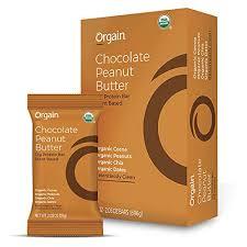 Orgain Orgain <b>Organic Simple Protein</b> Bars, Chocolate Peanut ...