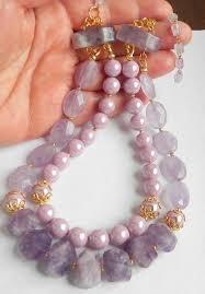 Amethyst & Shell <b>Pearls Necklace</b> | Ювелирные изделия ...