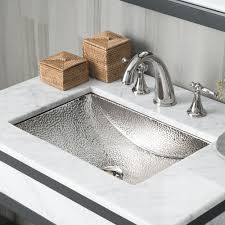 bathroom brushed nickel mixer faucet two handles 3 hole basin sink hot cold water taps nnf039