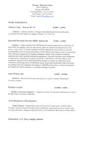 resumes general labor equations solver cover letter general labor resume objective for