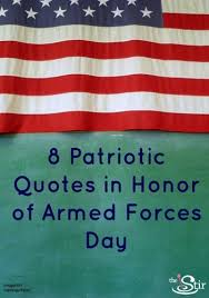 Armed Forces Day: 8 Quotes to Honor Our Brave Heroes (PHOTOS ...