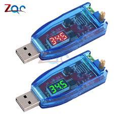 DC <b>DC 5V to 3.3V 9V</b> 12V 24V USB Step UP Step Down Power ...
