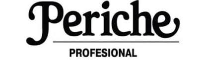 Periche <b>Пеньюар</b> коричневый с логотипом для стрижки Периче ...
